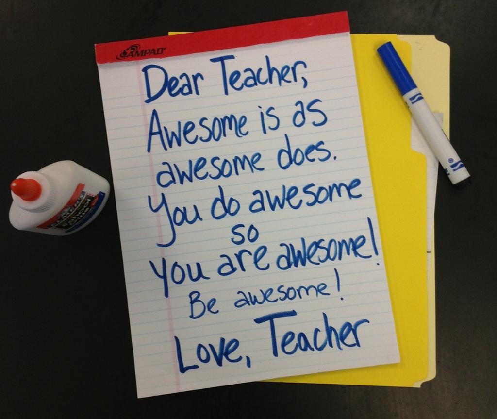 Cheer Up   Dear Teacher/Love Teacher