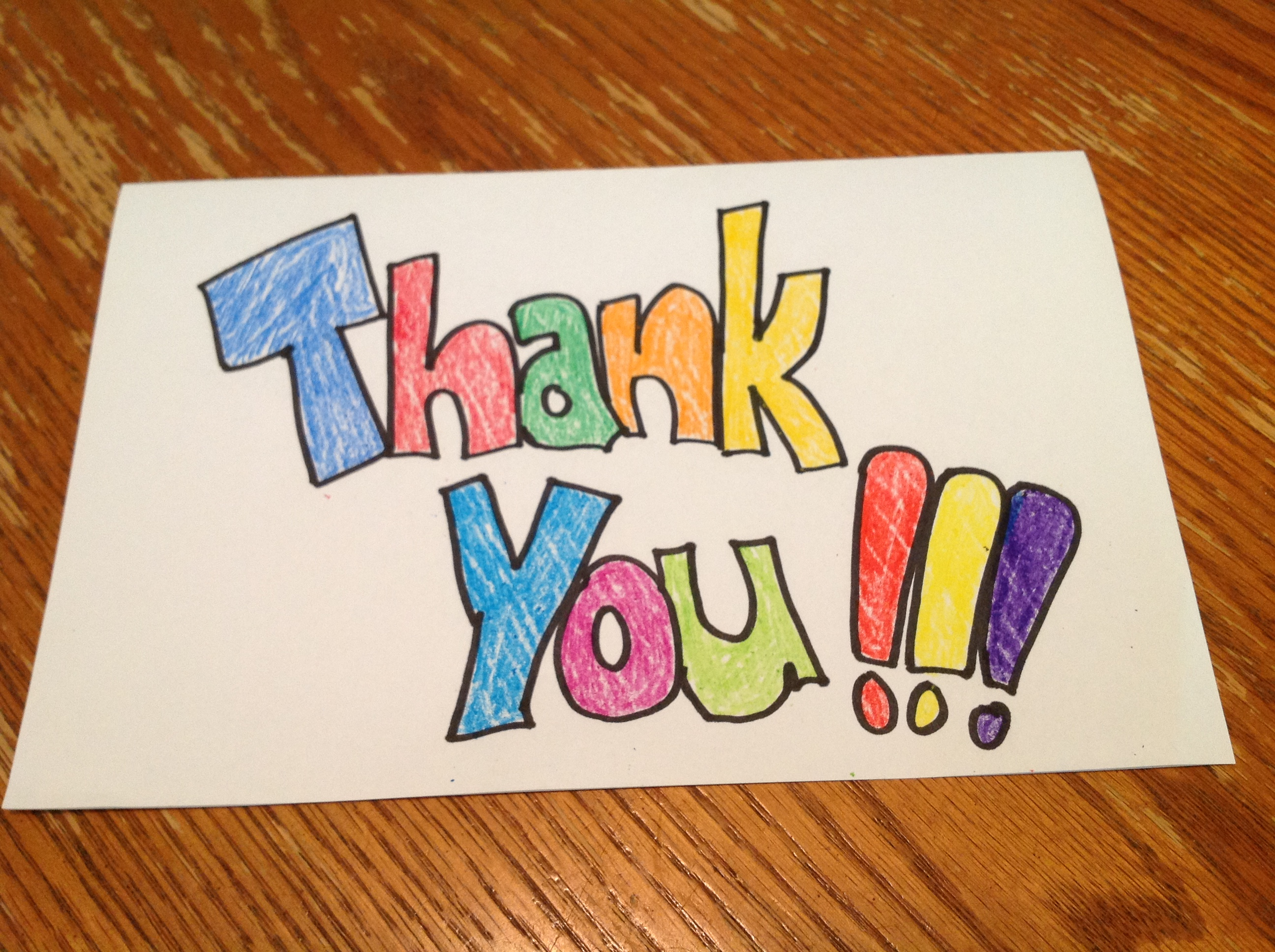 Thank You Note From Student  Dear TeacherLove Teacher
