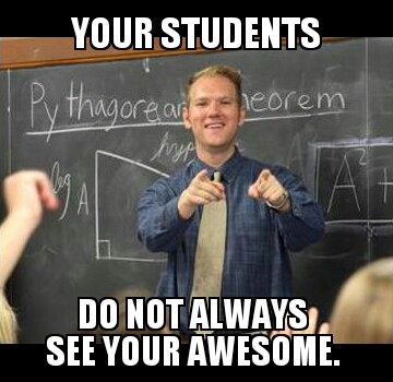 awesome teacher guy