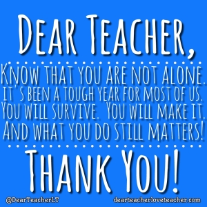 letter for teacher